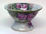 Terra Studios Floral Pottery Bowl
