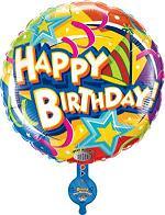 Happy Birthday Singing Balloon