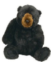Cuddly Plush Bear from Ditz Designs