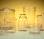 Clear Canisters from CCW Products