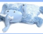 "Ellema The Elephant<br>Cuddly Plush Pillow"" width=""150″ height=""117″ /></a>