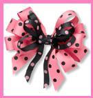 Quirky Polka Dot Fabric Ribbons & More