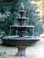 Relax Beside A Garden Fountain