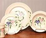 Wisteria Ceramic Dinnerware