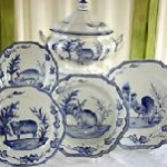 Hand Painted Dinnerware & More At The Mane Lion