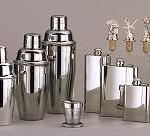 Elegant Silver Barware
