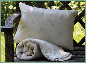 Organic Cotton Baby Bedding--Little Merry Fellows