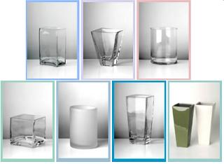 Wide Selection of Vases from Vasesource