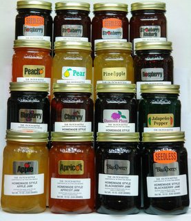 Gourmet Sauces including Amish Jams & Jellies