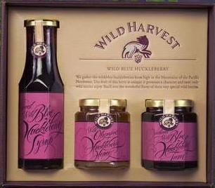 Berry Jams Gift Pack from Northwest WildFoods