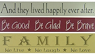Custom Wood Signs & Name Signs by American Woodcrafts