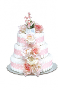 Bloomers Baby Diaper Cake