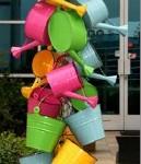 Vibrant display of Kraft Klubs Garden Accessories!