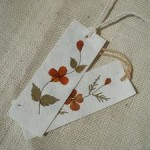 Dried Flower Bookmark