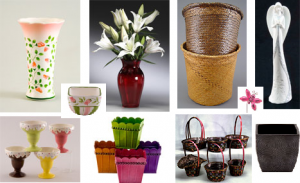 Assortment of Baskets, Containers, Accessories