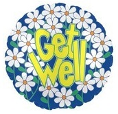 Get Well Occasional Balloon