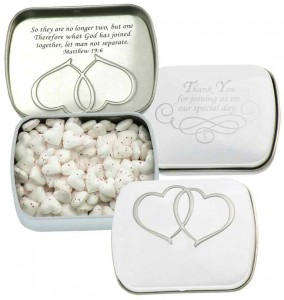 Personalized Wedding Favor Mints