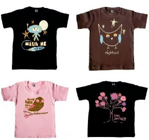 Adorable Children T-shirts from One Cute Bebe