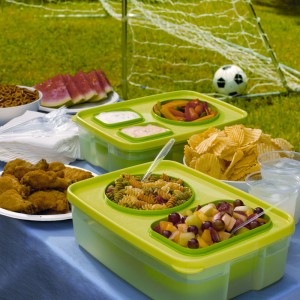 Chill And Out Food Serving & Storage System