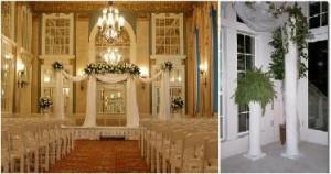 Beautiful Wedding Columns