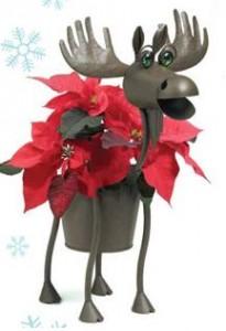 Moose Planter