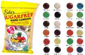 Variety Of Flavors From Eda's SugarFree Candy