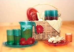 Colorful Drinkware
