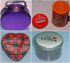 Customizable Tin Containers