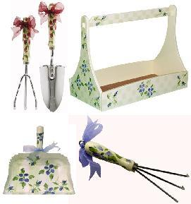 Hand Painted Gardening Tools