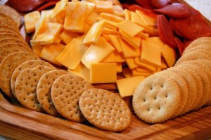 Gourmet Cheese & Crackers