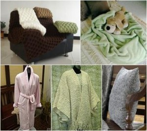 Luxuriously Soft Apparel & Throws