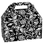 Black & White Damask Box