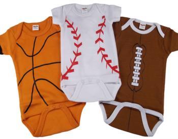 Sports Onesies