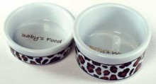 Teacup Dog Bowl Set