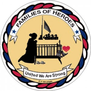Families of Heroes Sticker