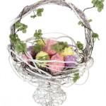 Flowered Egg Basket