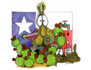 Cactus Margarita Label Design