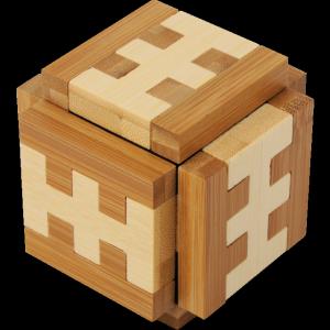 Funzzle - Bamboo Wood Puzzle - Gamma