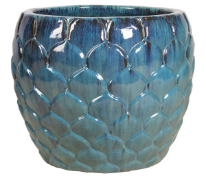 Artichoke Glazed Planter