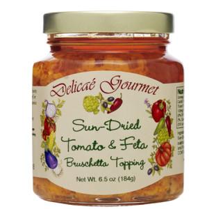 Sun Dried Tomato & Feta Bruschetta Topping