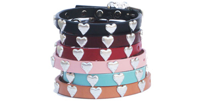 Small Heart Collars