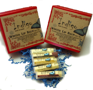 Winter Lip Balm 5 Pack Gift Set