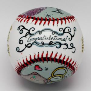Wedding Baseball