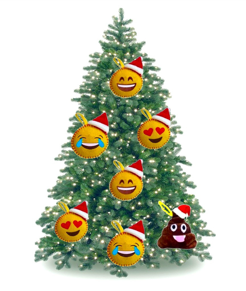 Emojicon Ornaments