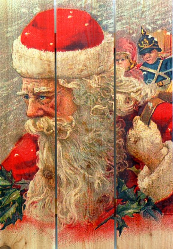 16 x 24 Wind Santa - Gizaun Art