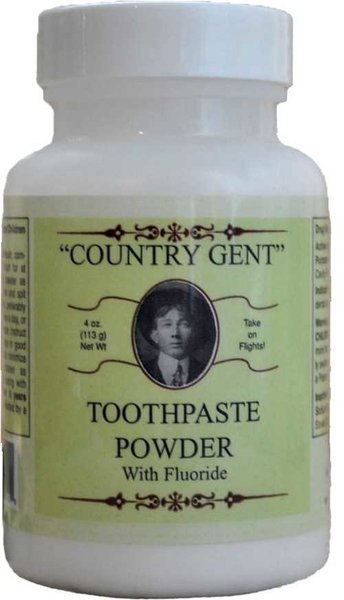 Country Gent Tooth Powder with Flouride