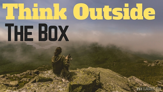 Don't Be Stale: Why Thinking Outside Of The Box Is A Good Business Strategy