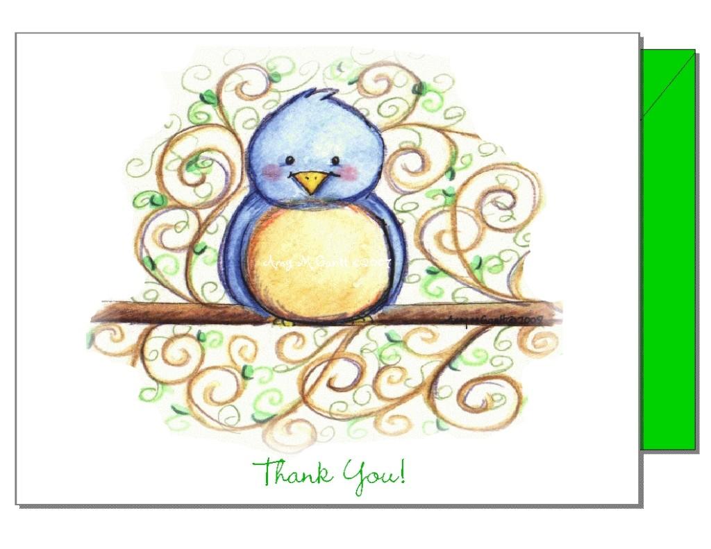 Cutie Bird Card