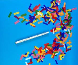 """14"""" Flutter Fetti Confetti Sticks"""
