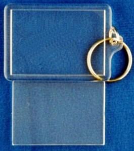 Blank Acrylic Keychains